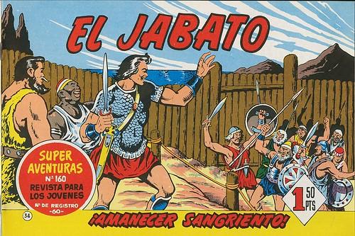018-El Jabato nº 34-edicion 1958-portada