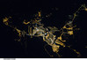 Brasilia, Brazil at Night (NASA, International Space Station, 01/08/11) (NASA's Marshall Space Flight Center) Tags: brazil nasa cerrado savannah 1001nights brasilia planaltocentral ceilandia lakeparanoa brasilianationalpark stationscience crewearthobservation 1001nightsmagiccity stationresearch