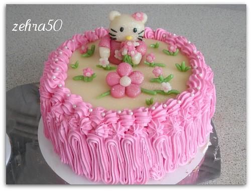 hello kity taart