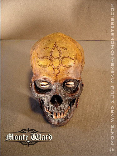 Another Angle Dayak Pattern Skull