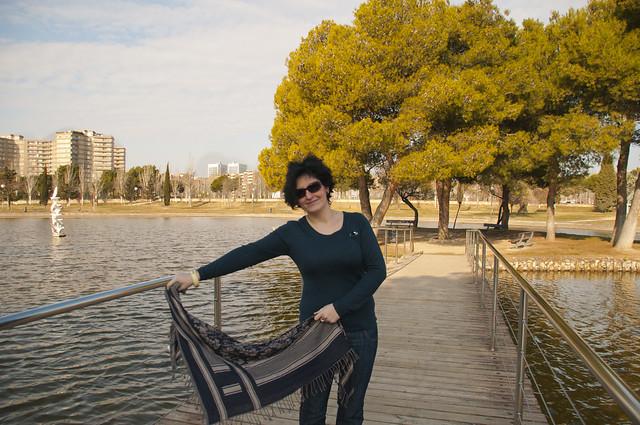 Posando en el parque 3