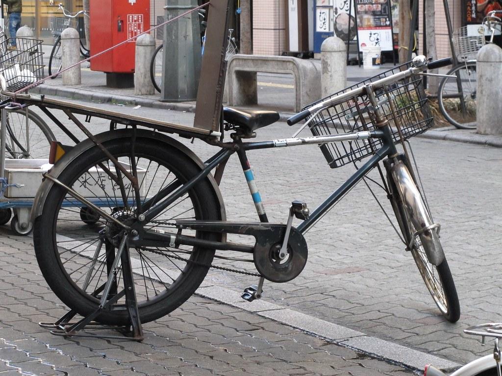 氷屋の自転車