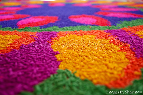 Colours of a Kolam
