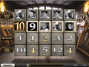 free Gladiator slot coliseum bonus