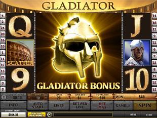 free Gladiator slot gladiator bonus