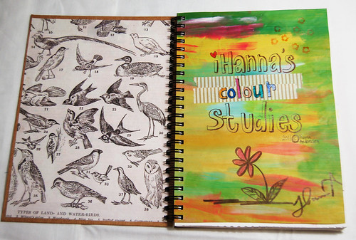 Start page in the sketchbook
