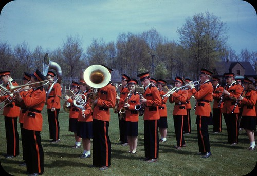 Members of the North High School Band - West Springfield, Massachusetts