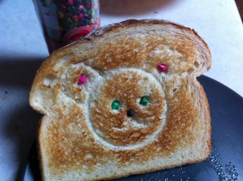 Toast Teddy