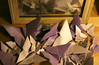Origami Butterflies With Mirror