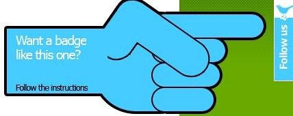 Follow me Badge
