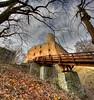 Lipowiec # 3 - vertorama (Mariusz Petelicki) Tags: castle ruins poland polska hdr zamek ruiny lipowiec vertorama mariuszpetelicki nadwiślańskiparketnograficzny castlelipowiec