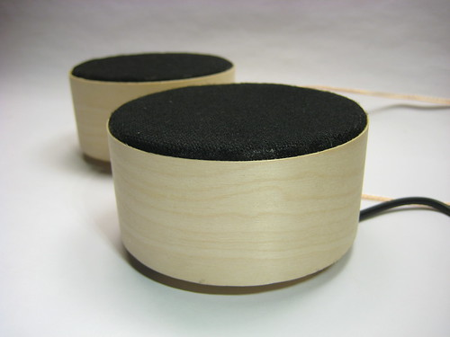 Completed pair of the fab speakers