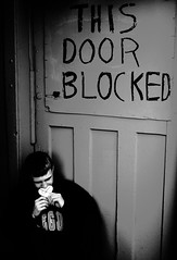 Silence (adam.iam16) Tags: door blocked silence silenced thisdoorisblocked
