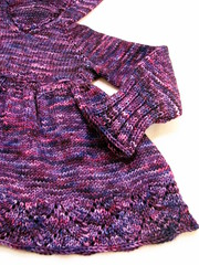 'Crushed' Ridinghood Sweater 12-24 months