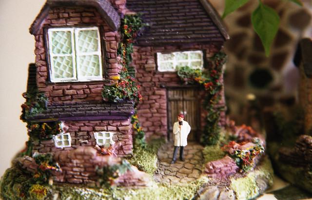 家の模型のフリー写真素材