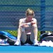 KIM CLIJSTERS SITTING