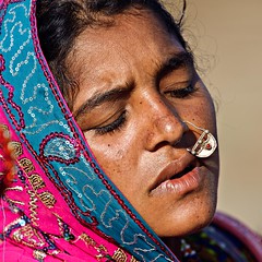 Tribal Woman 2 (Jayanand) Tags: india gujarat kutch littlerann