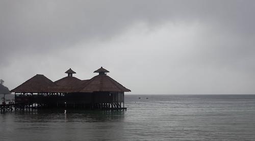 Gayana Resort, grey day