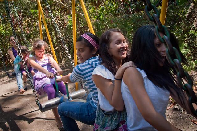 Playground at the Járdin Botanico