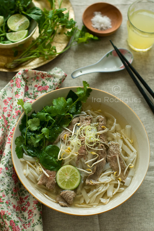 Pho Bo (Beef Pho noodles soup)