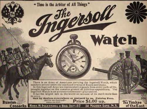 1904 Vintage Advert - Ingersoll Watch by CharmaineZoe