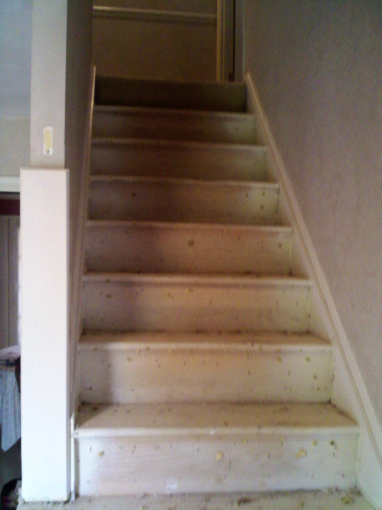 Stair Fitter Retread Process (NuSTAIR Retread Stairs) Tags: Stairtread  Newstair Staircaps Stairrefacing Nustair
