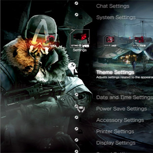 Killzone 3 Dynamic Theme
