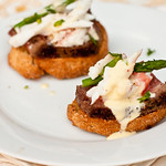 Filet Oscar Crostini