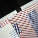Letterpress Overprint Business Cards - Untitled
