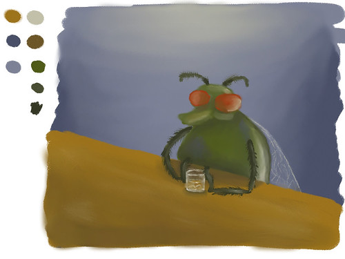 "Speed Paint, Feb. 17 - ""Relaxing/Insect"""