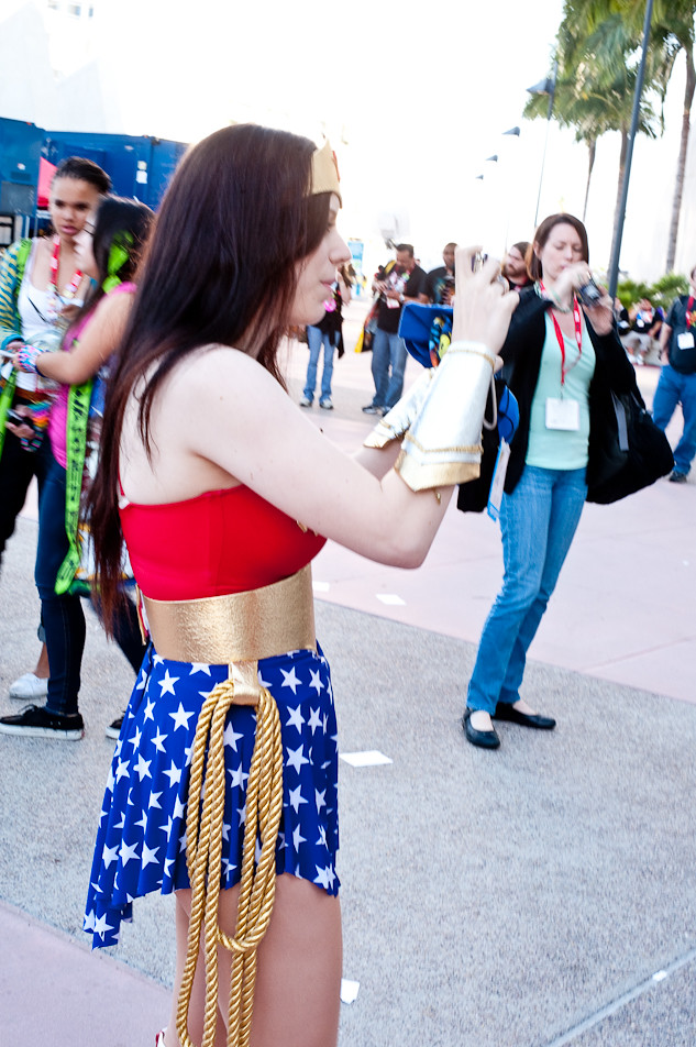 Wonder Woman Sight Seeing!