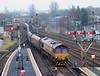 Stirling Station. (Kingfisher 24) Tags: station scotland stirling railway signals platforms dbs signalbox class66 diesellocomotive coaltrain semiphores
