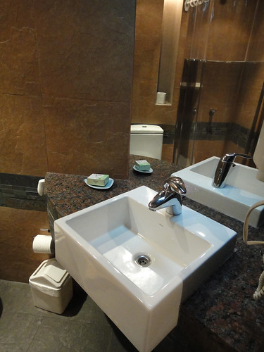 Sink in Bathroom at DOT Suites