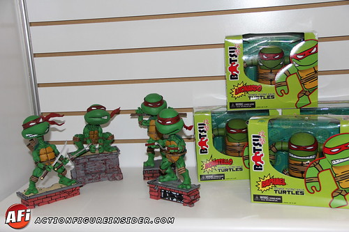 turtles statues_ToyFair_necca