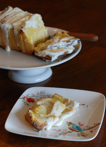 Baked Lemon Bread Slices