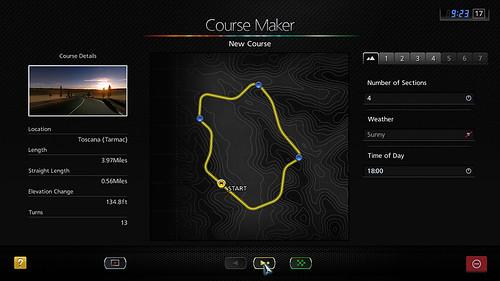 Gran Turismo 5: Course Maker