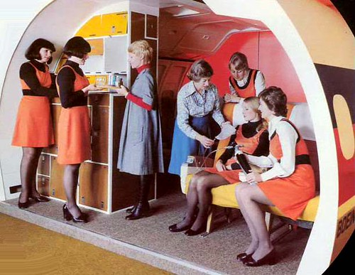 Ansett Airlines of Australia Air HostessTraining