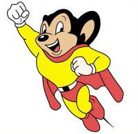 Mighty Mouse (redeyed chupacabre) Tags: icons smilys