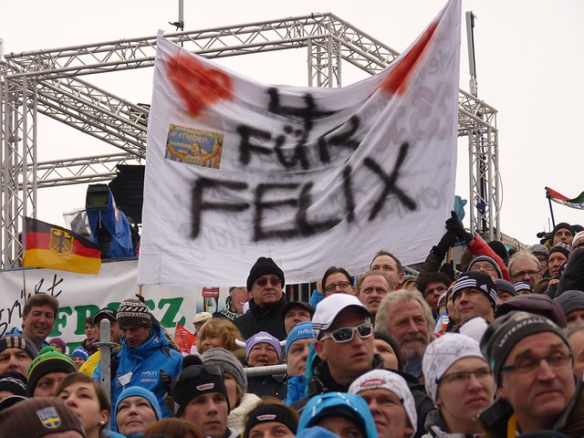 Unterstützung für Felix Neureuther