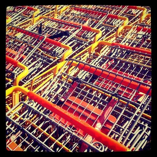 Orange carts