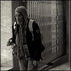 Homeless (joanpetrus) Tags: street light blackandwhite bw white black male 6x6 look night square lumix mono flickr solitude noiretblanc homeless monotone nb bn panasonic clothes explore squareformat aged pancake soledad 20mm schwarzweiss desolation 43 clochard blancinegre streetshot virado vagabundo 500x500 gf1 pancakelens bwd bwdreams leicalens incoloro monomania artlibre joanpetrus micro43 dmcgf1