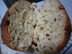 Raisins wheat bread (MelindaChan ^..^) Tags: food kitchen bread yummy wheat cook raisins mel eat homemade melinda flour bake  chanmelmel melindachan