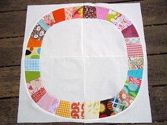 Single Girl Quilt Block (libbydillard) Tags: quiltblock scrapquilt piecing denyseschmidt singlegirlquilt