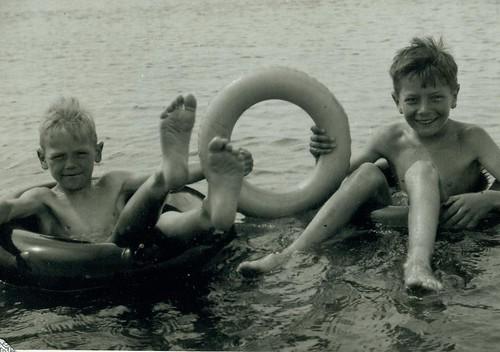 Roderick and Douglas McCreath 1956