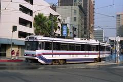 Metro in Long Beach (Andy961) Tags: longbeach losangeles california ca metro subway rapidtransit lightrail tram mta lamta sumitomo lrv