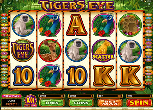 Tiger's Eye slot game online review