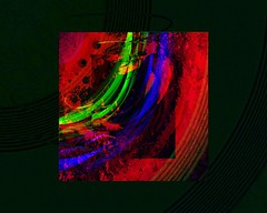 Tags Abstract Red Cheshire Cat