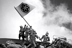 54/365 | Troopers Raising the Flag on Iwo Jima (egerbver) Tags: toy toys actionfigure starwars war stormtroopers replica worldwarii photographs actionfigures same similar stormtrooper parody recreation 365 homage copy remake alternative iwojima reconstruction hasbro parodies redo reconstruct clonetrooper recreate clonetroopers influencial joerosenthal raisingtheflagoniwojima davideger 365daysofclones