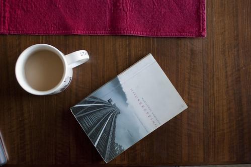 tea + a book
