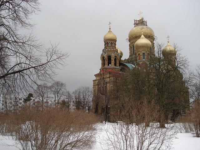 Saint Nicholas Orthodox Cathedral Karosta
